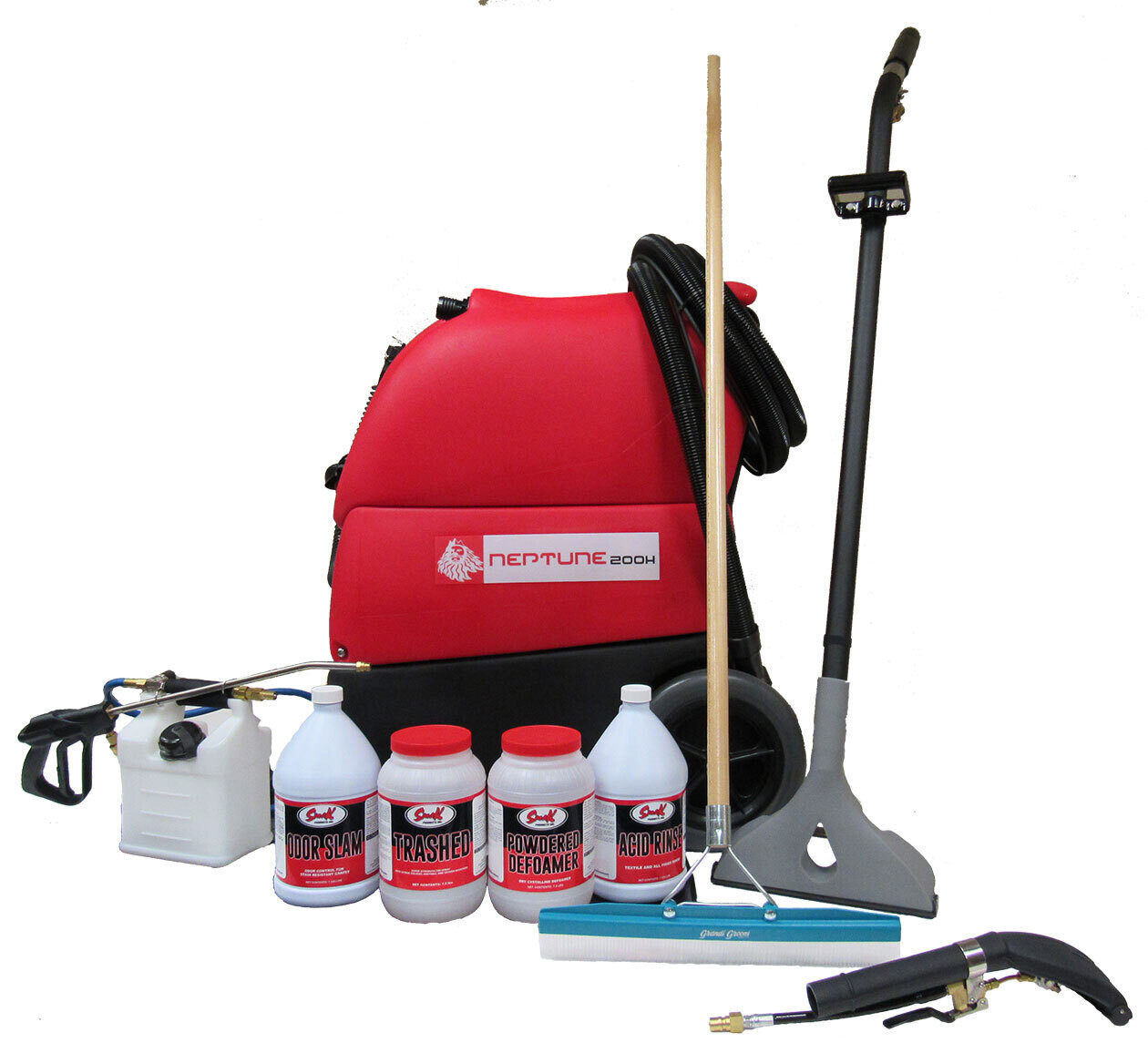 Complete Carpet Cleaning Equipment Package – Neptune 200HSC