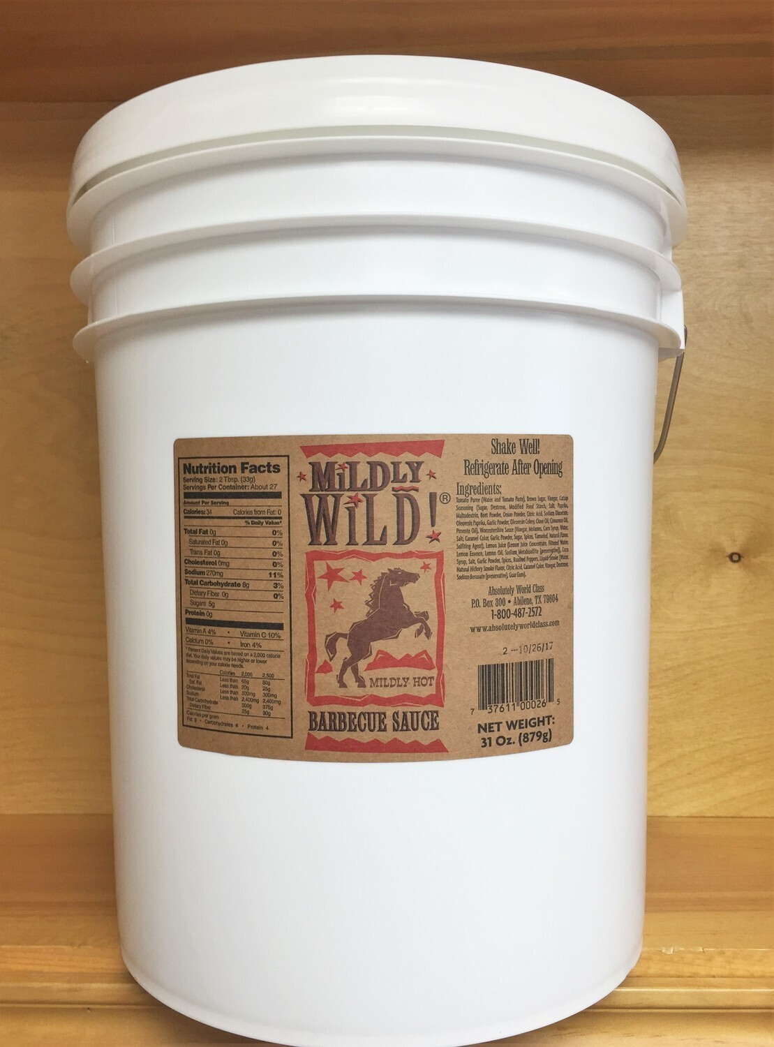 BBQ Sauce 5 Gallon Container Any Flavor!