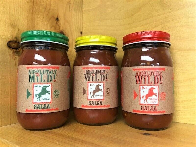 Salsa by Case (12 jars)