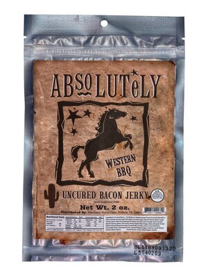 Western Barbecue Bacon Jerky