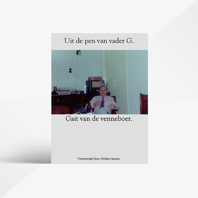 Gedichten bundel Gait van de Venneboer