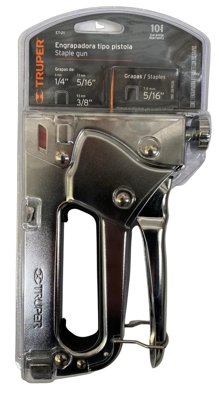 """Engrapadora Tipo Pistola 5/16"""" Truper"""