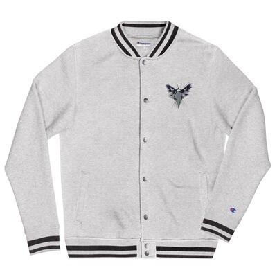 Flyarrhea X Embroidered Champion Bomber Jacket