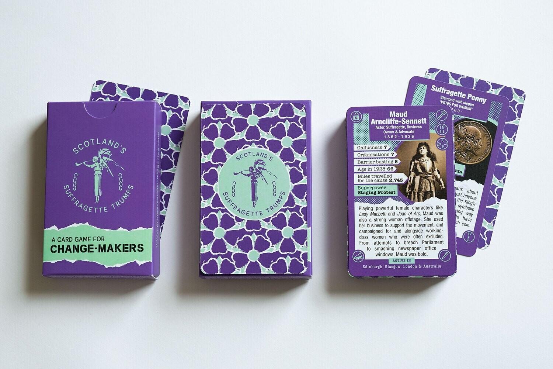 Scotland's Suffragette Trumps (3 decks)