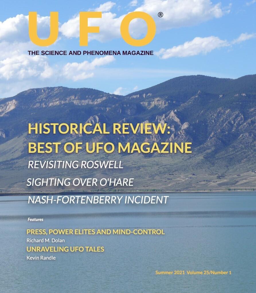 Summer 2021 Issue of UFO Magazine
