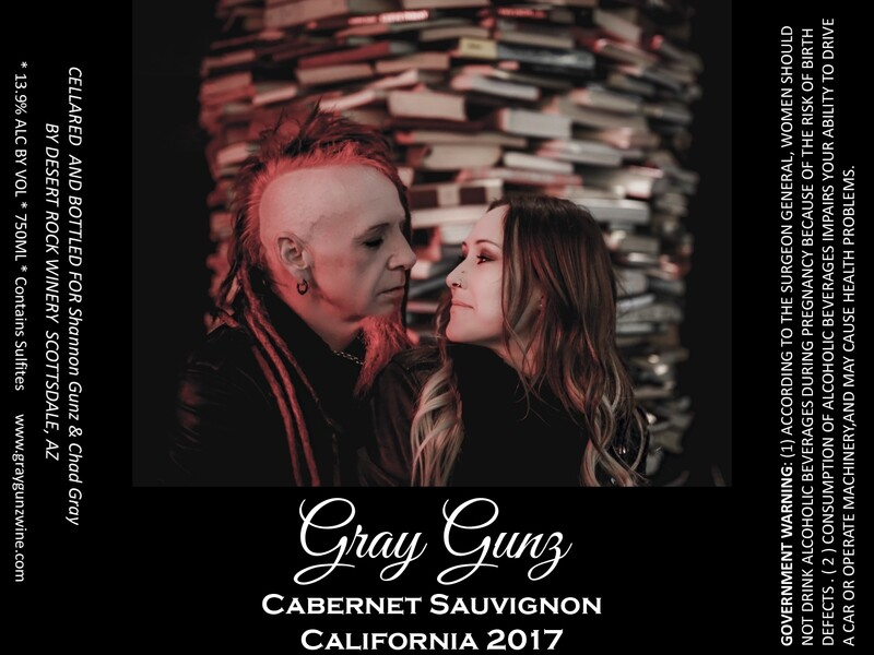 Gray Gunz Cabernet Sauvignon Single Bottle PRE SALE