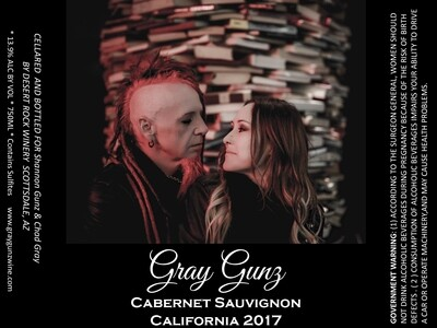 Gray Gunz Cabernet Sauvignon Two Pack PRE SALE