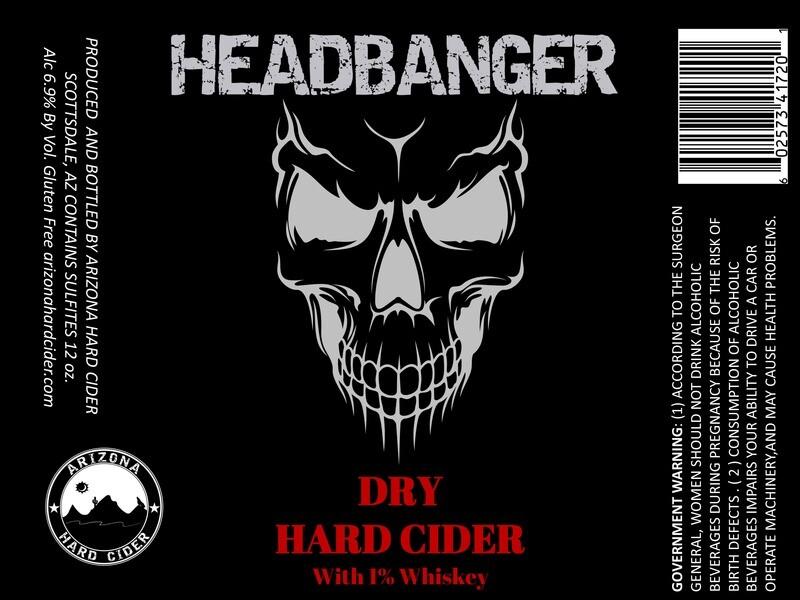 Headbanger Hard Cider - 12pk