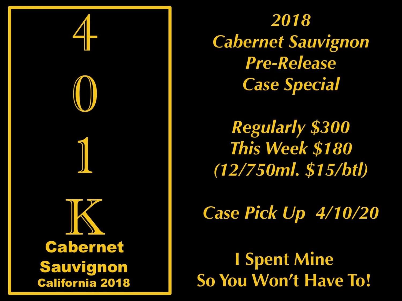 2018 401K Cab Case Special