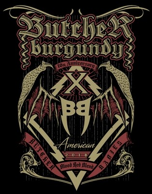 """Butcher Babies """"Burgundy"""" TWO PACK - PRE SALE"""