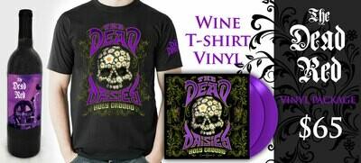 The Dead Red Cabernet-TShirt-Vinyl Combo