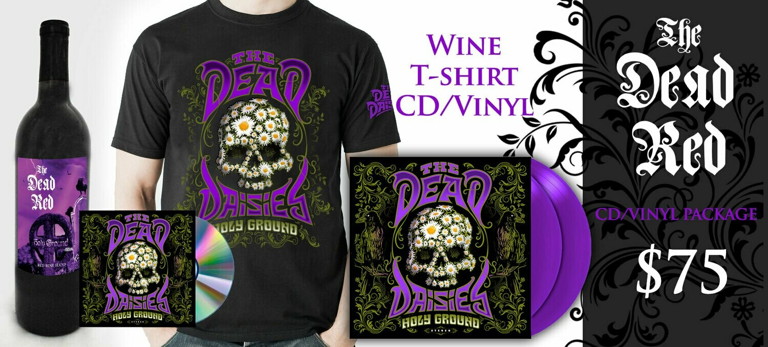 The Dead Red Cabernet-TShirt-CD-Vinyl Combo