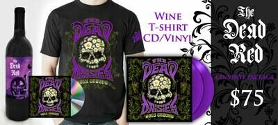 The Dead Red Cabernet-TShirt-CD-Vinyl Combo