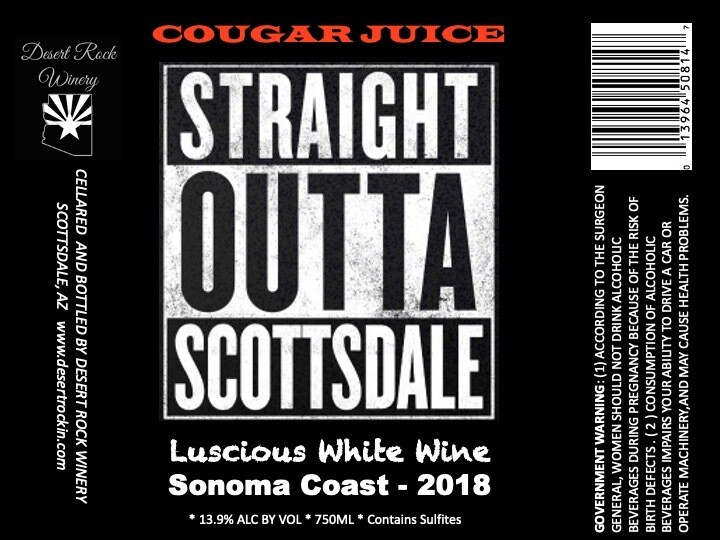 "Straight Outta Scottsdale ""Cougar Juice"""