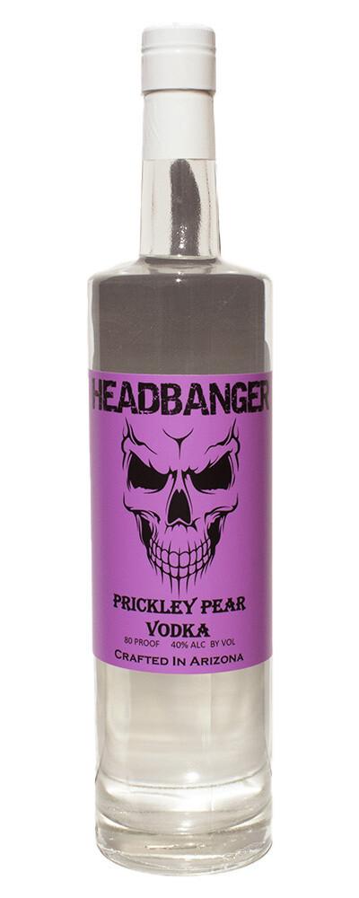 Headbanger Prickly Pear Vodka 80 Proof