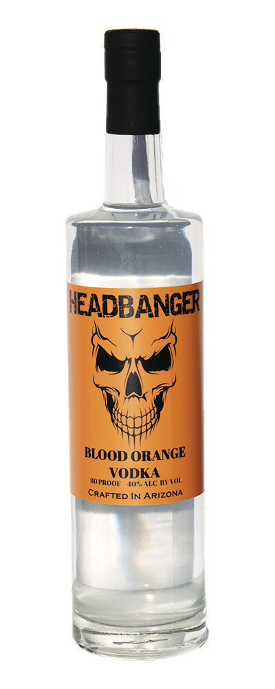 Headbanger Blood Orange Vodka 80 Proof