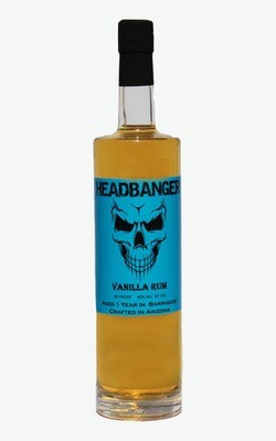 Headbanger Vanilla Rum 80 Proof