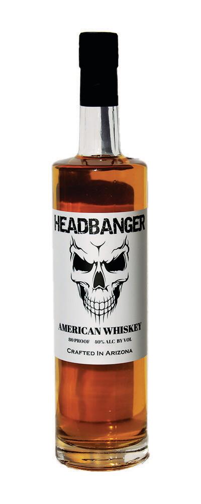 Headbanger Blended Whiskey 80 Proof