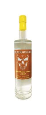 Headbanger Black Cherry - Lemon Vodka 80 Proof