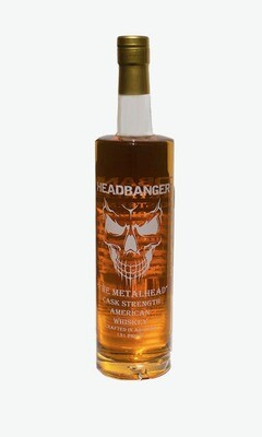 "Headbanger ""The Metalhead"" Cask Strength Whiskey 131 Proof"