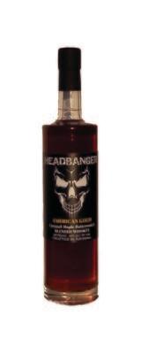 "Headbanger ""American Heat"" Hot Cinnamon-Honey Whiskey 80 Proof"