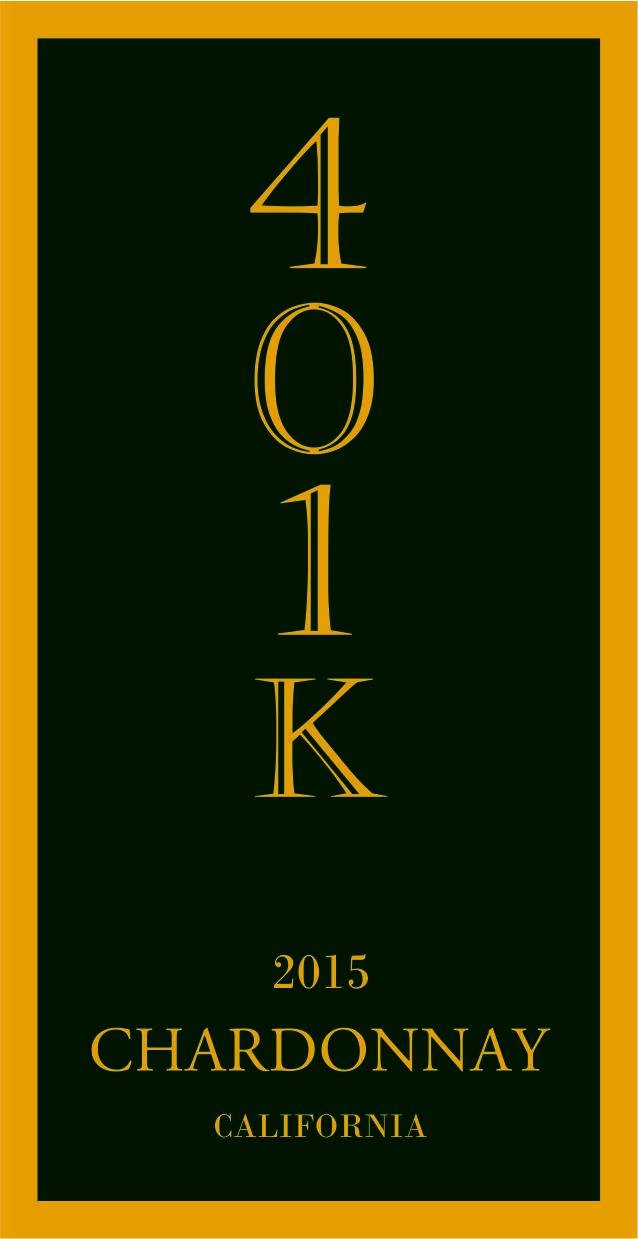 401K Chardonnay, California