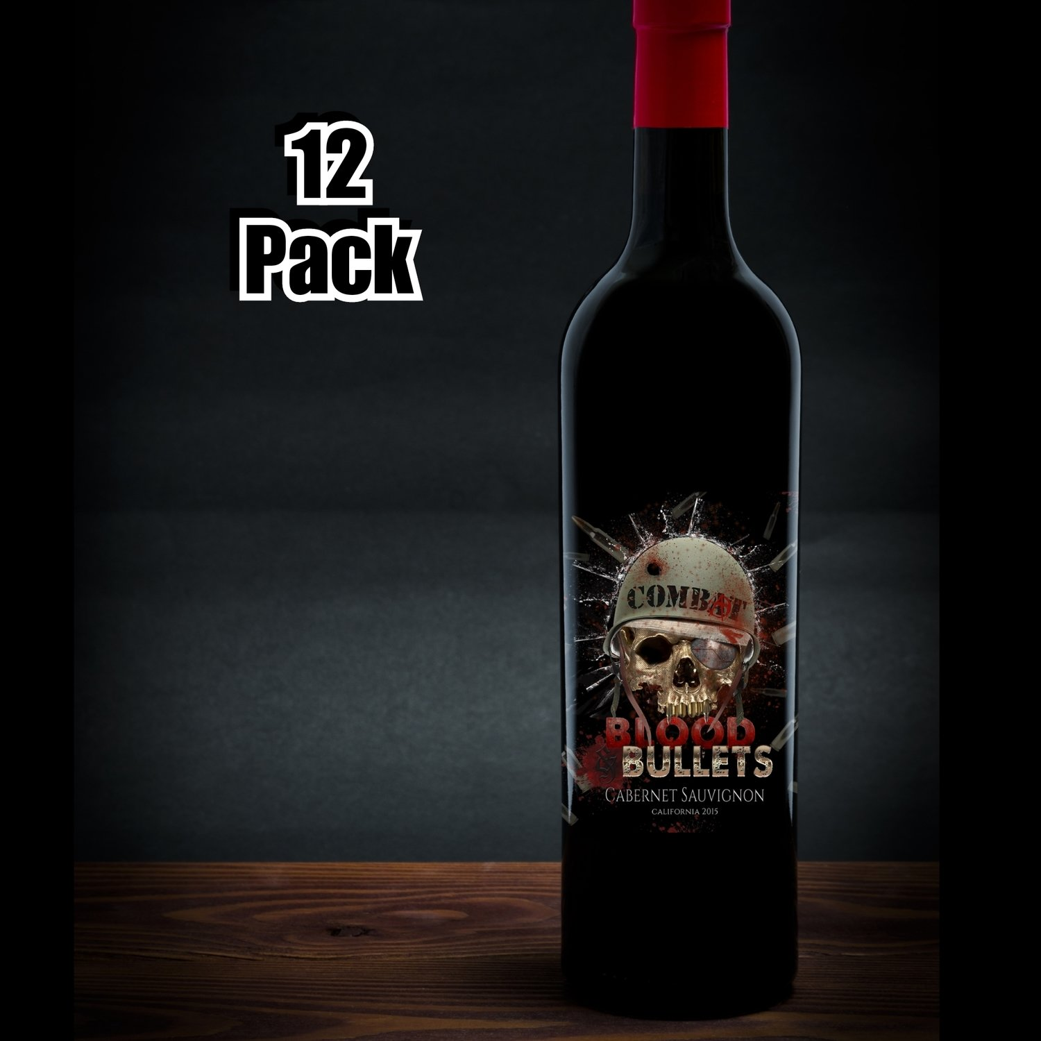 "Combat ""Blood and Bullets"" Cabernet Sauvignon CASE"