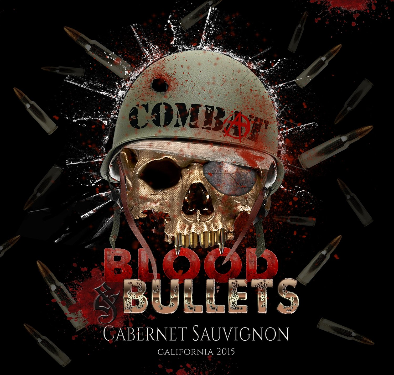 "Combat ""Blood and Bullets"" Cabernet Sauvignon Single"