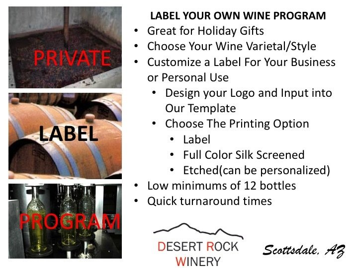 Private Label Case - Your Own Wine