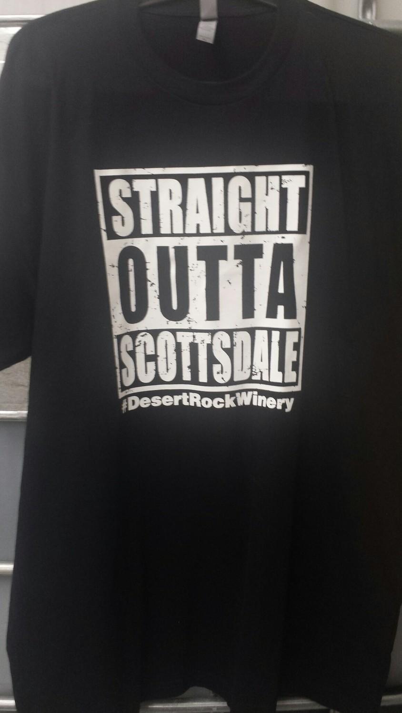 Straight Outta Scottsdale Mens Short Sleeve T-Shirt