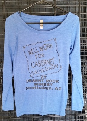 Will Work for Cab Ladies Long Sleeve T-Shirt