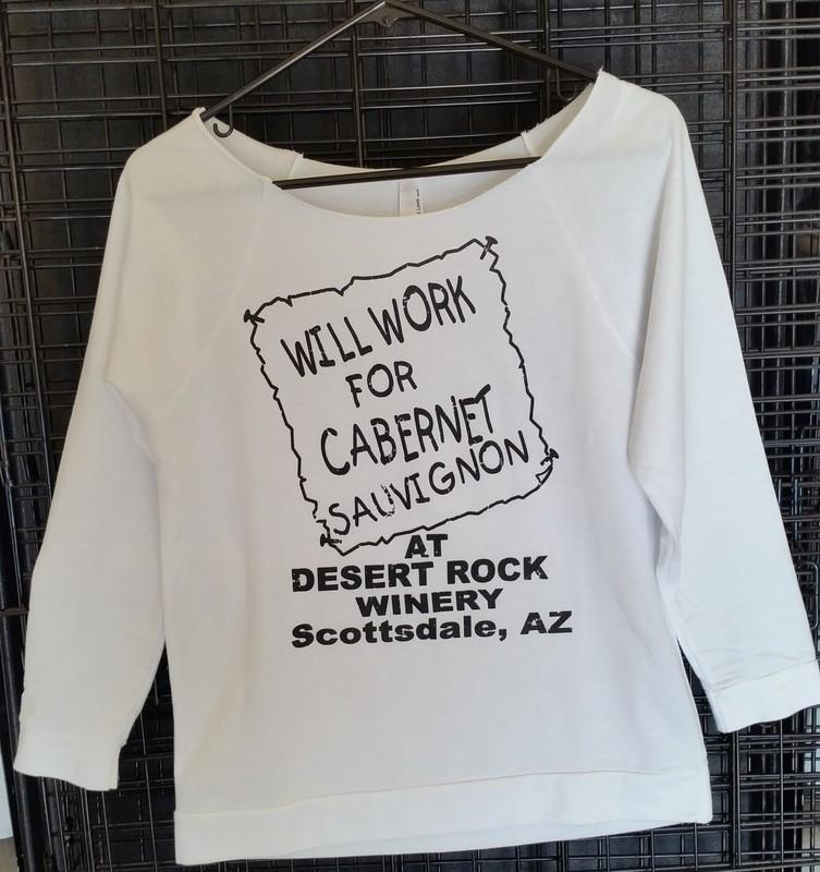 Will Work for Cab Ladies Long Sleeve Scoop Neck Sweatshirt