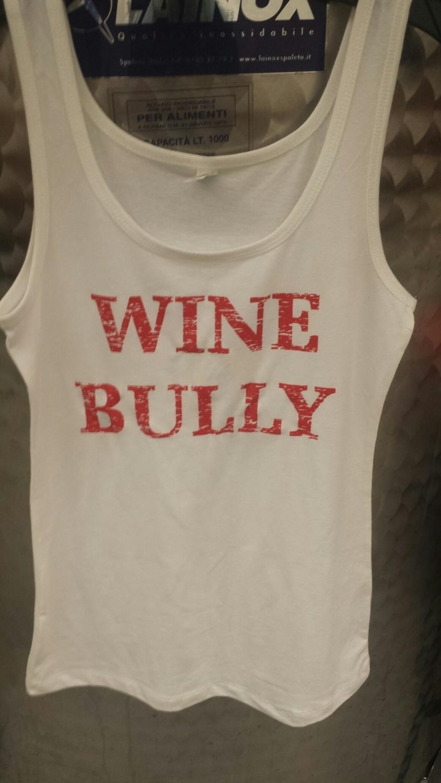 Wine Bully Ladies Tank