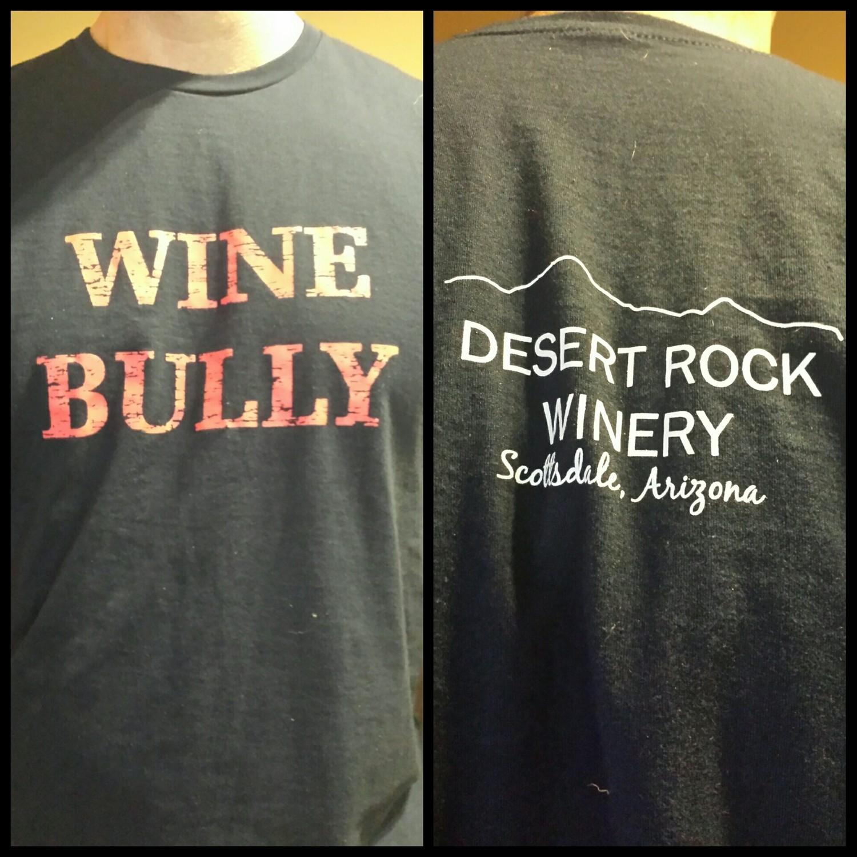 Wine Bully Mens Short Sleeve T-Shirt
