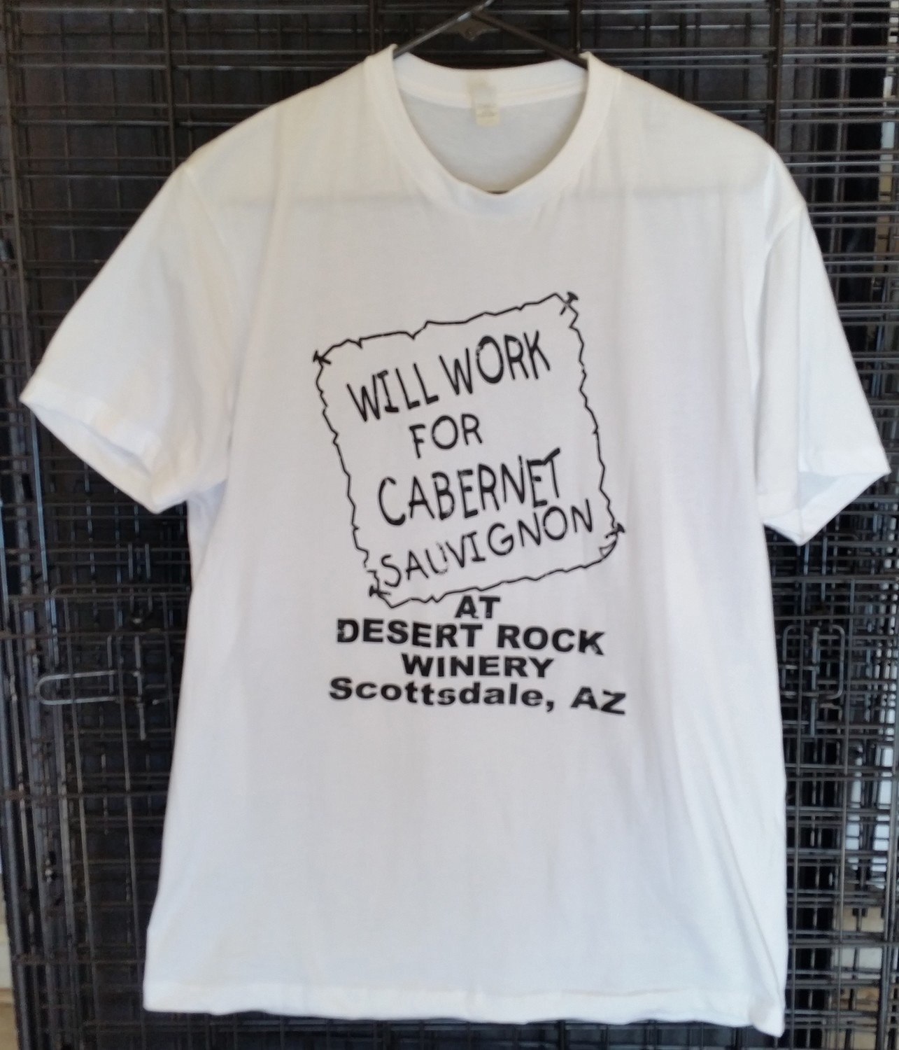 Will Work for Cab Mens Short Sleeve T-Shirt