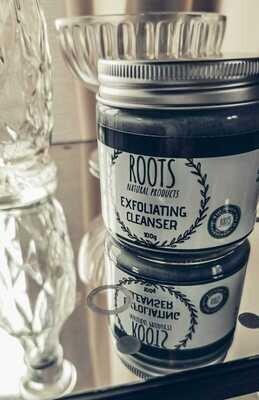 CHARCOAL & CRUSHED APRICOT EXFOLIATING CLEANSER