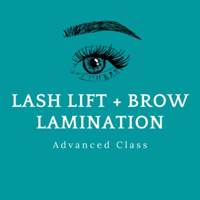Lash Lift + Brow Lamination