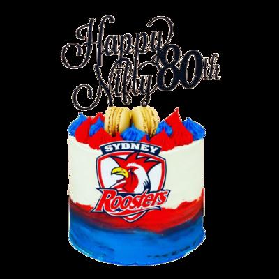 Designer Cake with custom image