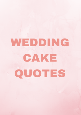 Request a Wedding Cake quote