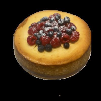 Baked Lemon Ricotta Cheesecake