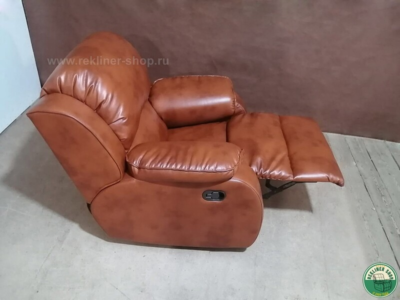 Кресло Реклайнер Фарр (Pharr) Premium Mechanics (механизм качания и вращения)