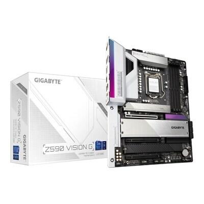 GIGABYTE 1200 Z590 VISION G