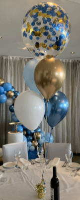 """Balloon Bouquet (16"""" Confetti with 4 Balloons)"""