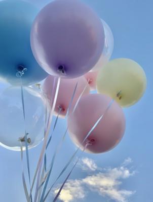 Plain Free Float Balloons