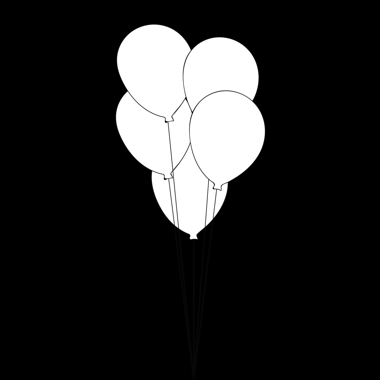Bouquet - 5 Balloons