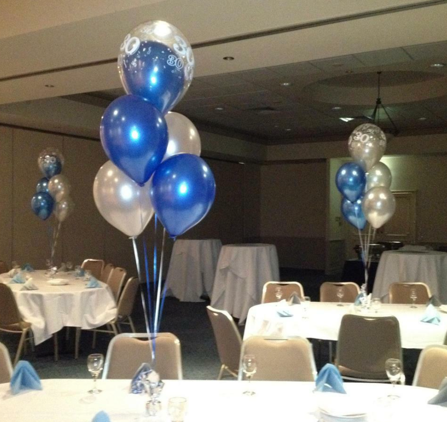 Table Bouquets - Balloon Inside Balloon