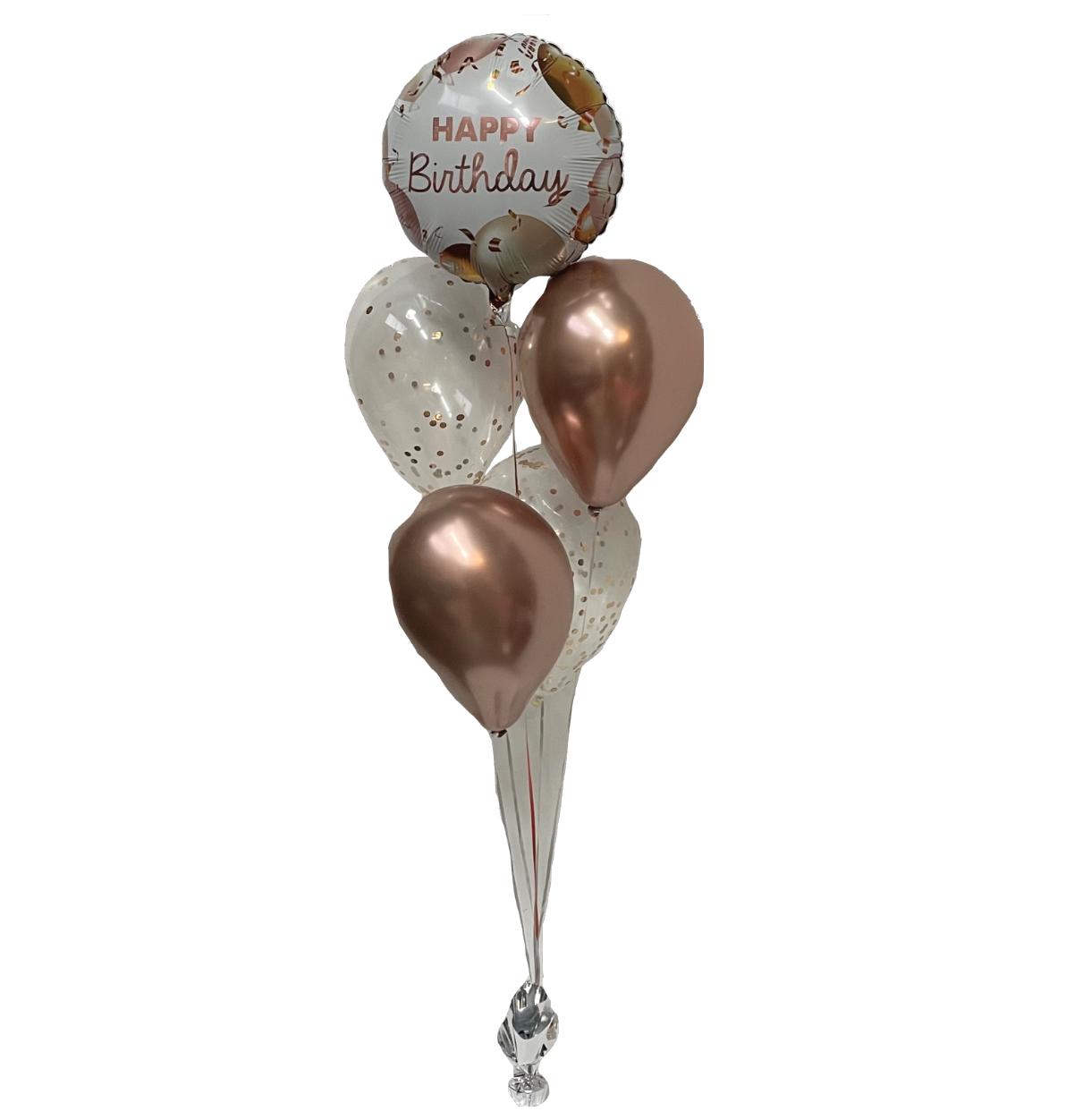 2 Confetti Balloon Bouquet