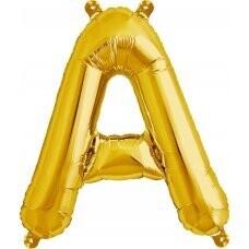 Megaloon Gold Alphabet (A-Z)
