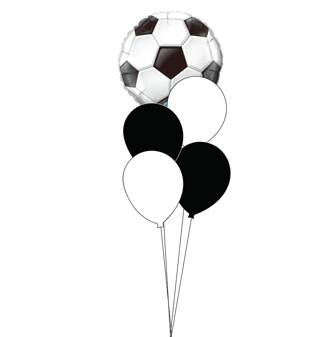 Standard Soccer Ball Bouquet