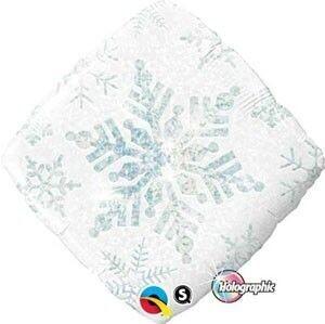 Holographic Snowflake Sparkles Foil